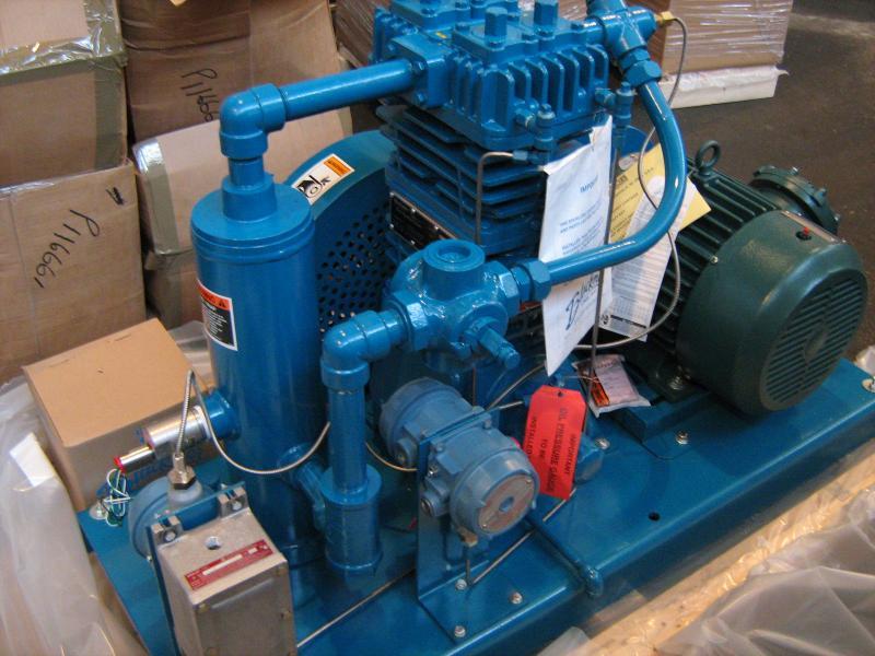 Компрессорный агрегат Blackmer LB601LU (Умнов)