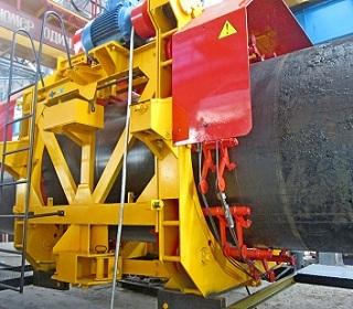 Машины для ремонта трубопроводов