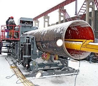 Трубогибы для строительства магистральных трубопроводов