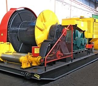 Лебедки для строительства подводных переходов