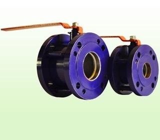 Кран шаровый стальной фланцевый 11с42п (ОАО Завод «Этон»)