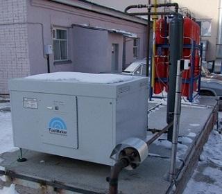 Автомобильная газовая наполнительная компрессорная станция