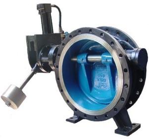 Клапан обратный трехэкцентричный AV-5026, DN1200 PN16,c гидроприв