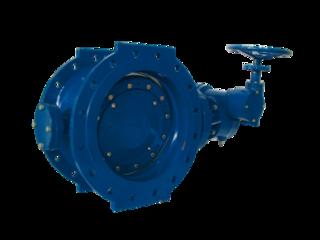 Затвор поворотный фланцевый DN600 PN10, AV-5010,двуэкцентричный