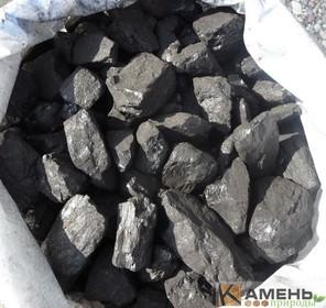 Отборный уголь в мешках