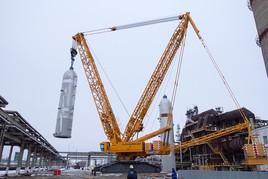 Аренда гусеничного крана LIEBHERR LR 1750 г/п 750 тонн