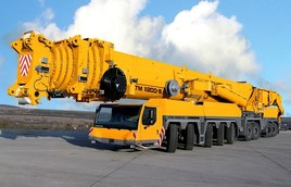 Автокран LIEBHERR LTM 11200-9.1 г/п 1200 тонн под Ваш ветропарк. Строительство ветропарков по всей территории Казахстана