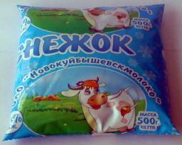 Снежок (жирность 2,5%, упаковка финпак)