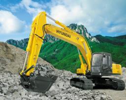 Гусеничный экскаватор Hyundai R250LC-7A