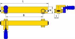 Концевые балки опорные на мостовой кран до 10т.
