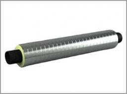 Полиэтиленовые трубы с ППУ изоляцией в оцинкованной оболочке