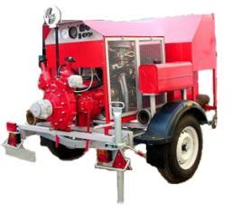 Пожарные мотопомпы Водолей 20-80 и Гейзер 1600 п прицепные бензиновые помпы купить в Пожарном магазине