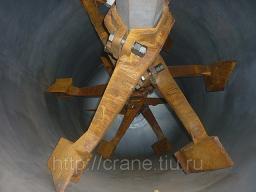 Лопатки — лопасти для горизонтального вакумного котла КВМ-4,6