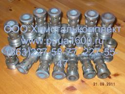 Клапан всасывающий насоса 1,3ПТ50Д2, 1,1ПТ25Д1, 2,3ПТ25Д1, ПТ-25, ПТ-50, ПТ-32, запчасти ППУА 1600 100, АДПМ 12 150, ППУ