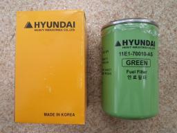 Фильтры Hyundai Хундай для экскаваторов и фронтальных погрузчиков