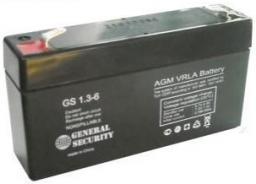 Аккумулятор GS 1.3-6 Производитель: Dahua storage battery