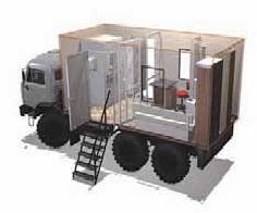 Источник бесперебойного питания для передвижного флюорографического кабинета (ФК)