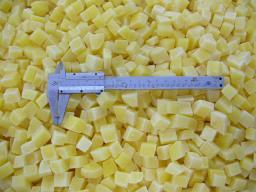 замороженный картофель-кубик