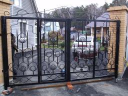 Ворота из металла в новосибирске