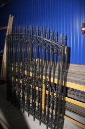 Ворота калитка со столбами и шарнирами купить сразу