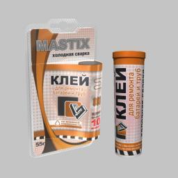 Клей MASTIX для батарей и труб холодная сварка (туба 55гр)