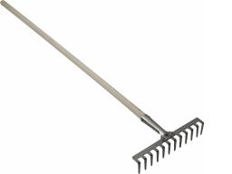 Грабли прямые зубья ГП-12 с черенком (ДС)