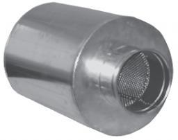 Глушители шума трубчатые круглые А7Е 186