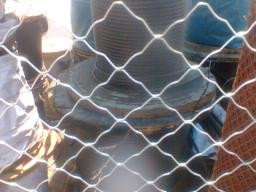 Сетка оцинкованная 2х4 метра 4 мм фигурная сварная
