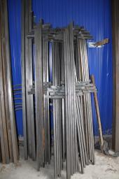 Ворота и заборы из металла столбы с проушинами