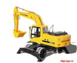 Запчасти на экскаватор Hyundai R200W-7