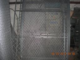 Ворота из сетки в уголке купить сразу