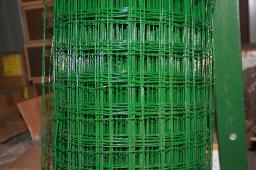 Металлическая сварная сетка в ПВХ покрытии высота 1.5 или 1.8 метра