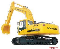 Запчасти на экскаватор Hyundai (Хундай) R290LC-7, R290LC-7A