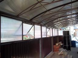 Заготовка металлоконструкций ферм и каркасов