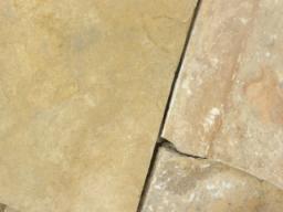 Камень для дорожек Песчаник желтый 2,5-3 см.
