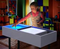 Интерактивный светозвуковой столик