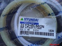 31Y2-02860 ремкомплект гидроцилиндра стрелы Hyundai HL770-7