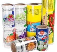 Упаковочные материалы с флексографической печатью