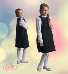 Сарафан-баллон для девочки