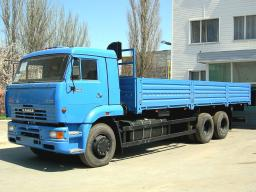 Бортовой автомобиль КамАЗ-65117 с двигателем Евро-3 (6х4, г/п 14 тонн)