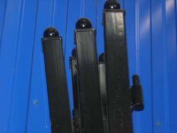 Столбы для заборов с проушинами и оголовниками