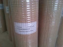 Сетка оцинкованная сварная 15х15х1.4 рулон 25 метров