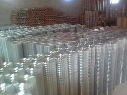 Сетка оцинкованная сварная 25х25х2 мм рулон 25 метров