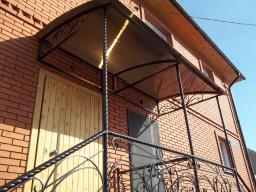 Витая труба от 57 до 159 стенка до 4 мм на столбы для забора