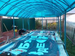 Прочные навесы для басейна