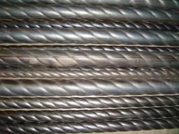 Труба оребрённая для кованых изделий,гибка дуг из профильной трубы
