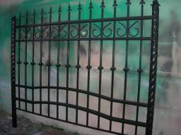 Заборы и ворота с элементами ковки от производителя