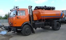 Комбинированная Дорожная машина КО-806-01 на шасси КамАЗ-43253 (ПМ+ПЩ)