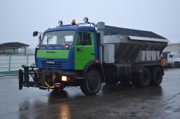 Комбинированная Дорожная Машина ЭД-405Б на шасси КамАЗ-65115