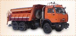 Комбинированная Дорожная Машина ЭД-405В на базе шасси КамАЗ-65115